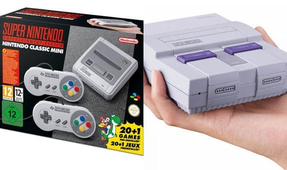 snes mini classic stock