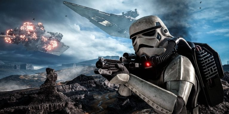 Battlefield in a Star Wars Skin