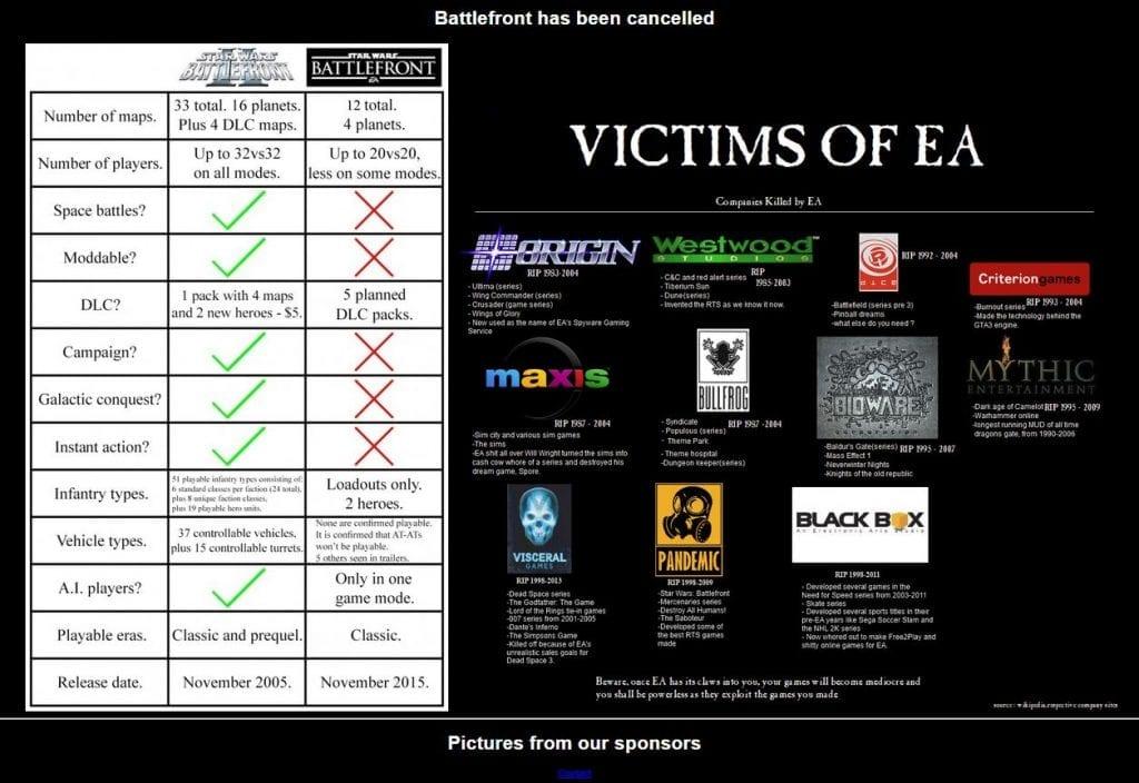 ea companies ruined