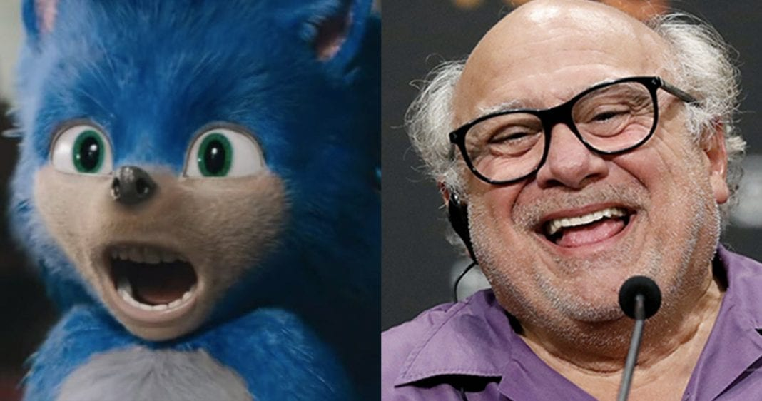 Danny DeVito is Sonic