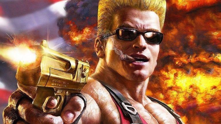Duke Nukem trolls nerds for sport