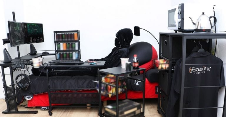 The Gaming Bed: Mankind's greatest invention