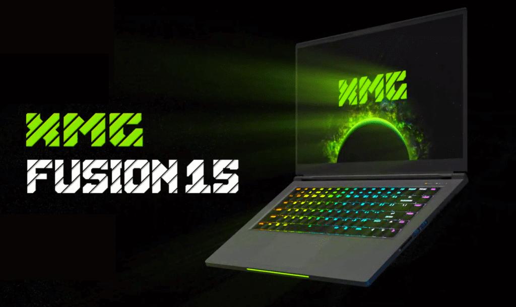 XMG Fusion 15 laptop