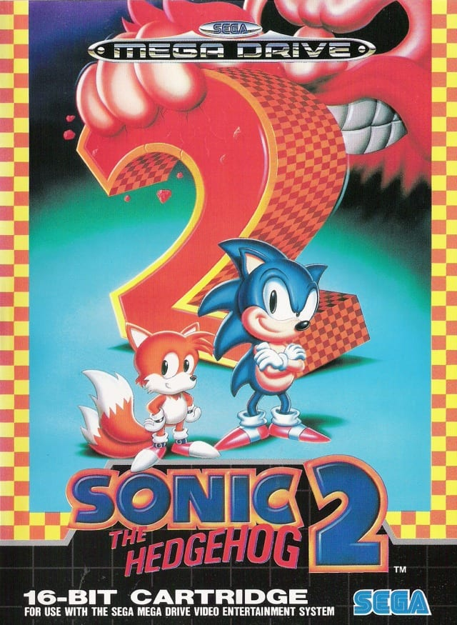 Sonic The Hedgehog 2 Mega Drive retro game system guide
