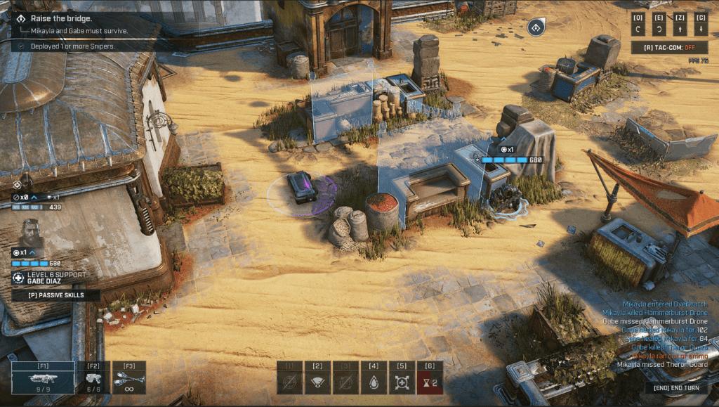 Gears Tactics scan terrain beginner's guide