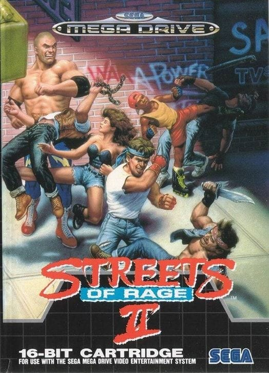 Streets of Rage 2 Mega Drive retro gaming guide