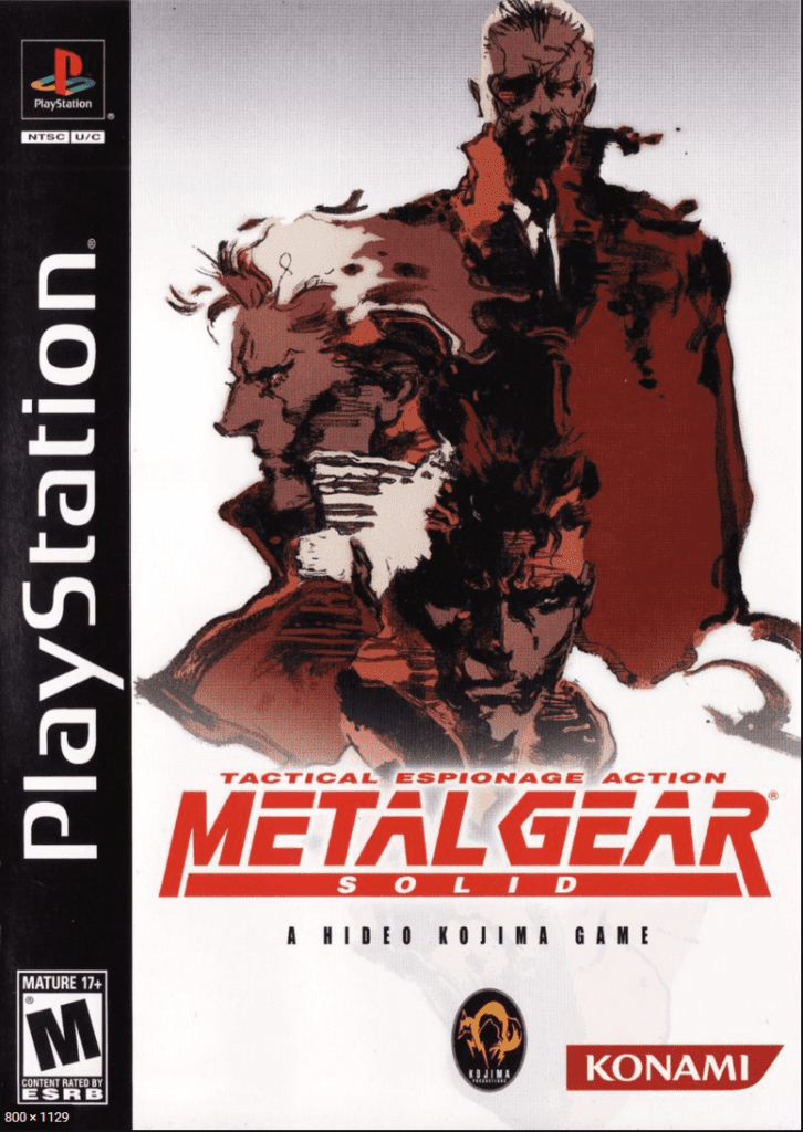 Metal Gear Solid Sony PlayStation retro buyers guide