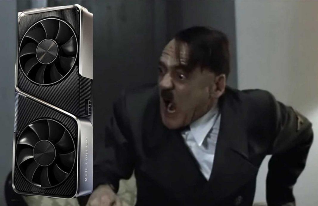 Hitler Nvidia angry